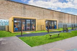 Mobilné triedy pre deti. Rýchle aefektívne rozšírenie vyučovacej kapacity.
